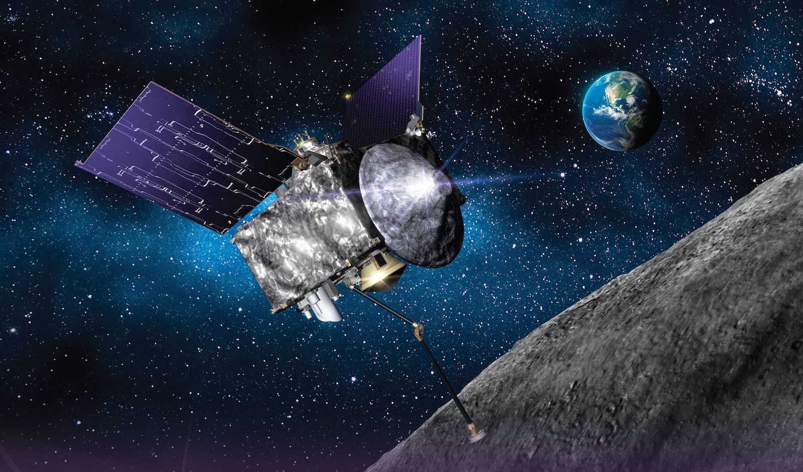 Canadian-made laser successfully maps asteroid for NASA