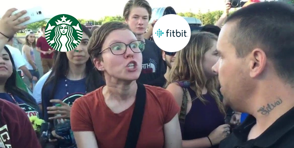 Fitbit and Starbucks feel the wrath of rabid social justice warriors