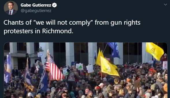 NBC just can't stop lying about the Virginia 2A rally