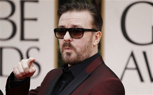 Ricky Gervais shines at Golden Globes despite salty mainstream media coverage
