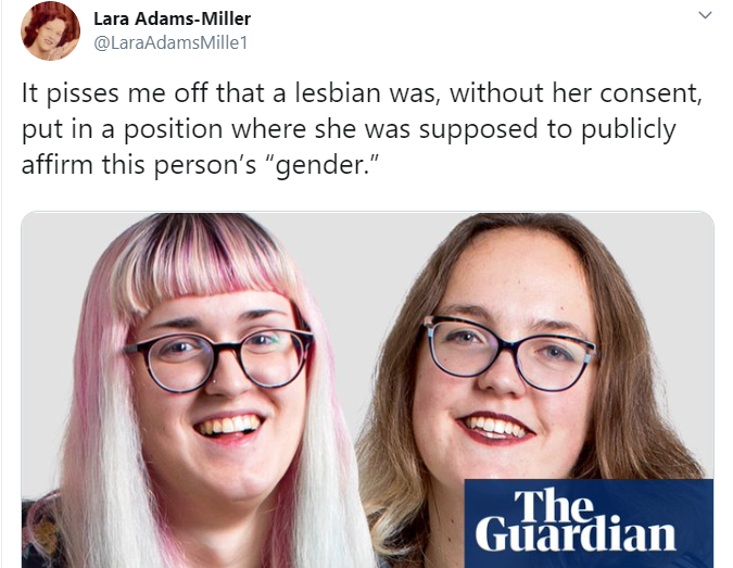 The Guardian set up a 'cotton ceiling' blind date