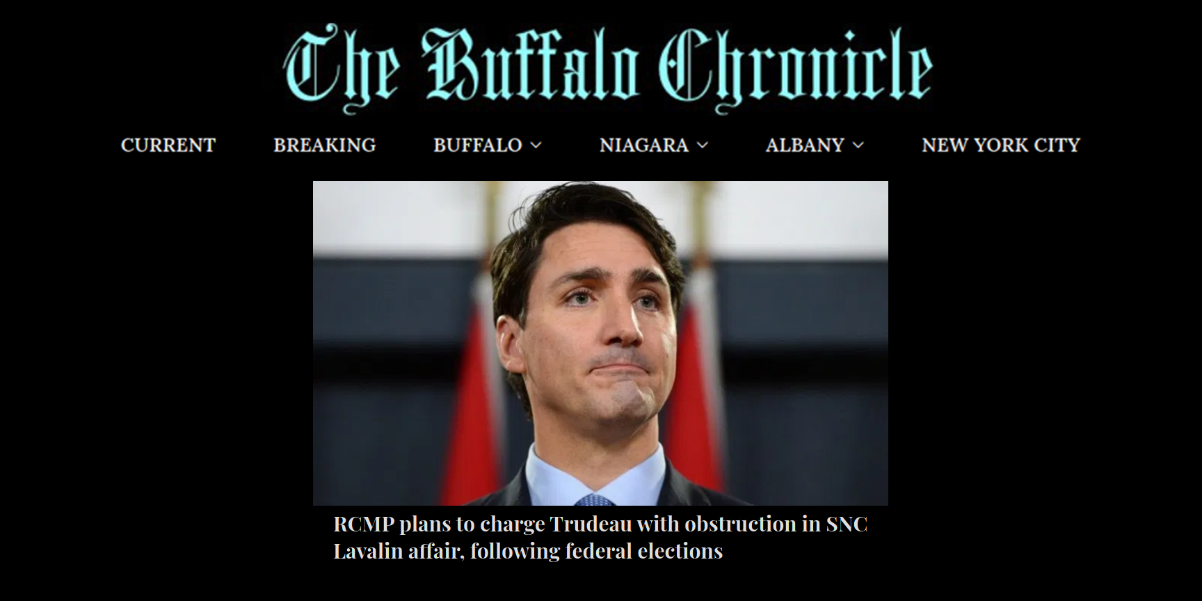 American fake news site monkeys with Canadian election