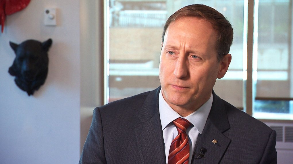 WATCH: Peter MacKay bails on interview after being questioned over tweet