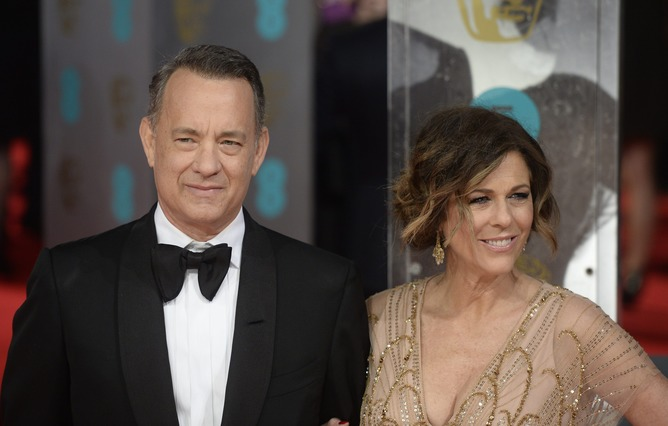 Tom Hanks and Rita Wilson come down with coronavirus