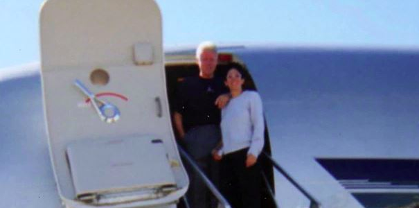 Pictures show Bill Clinton posing with Ghislaine Maxwell and Epstein victim Chauntae Davis