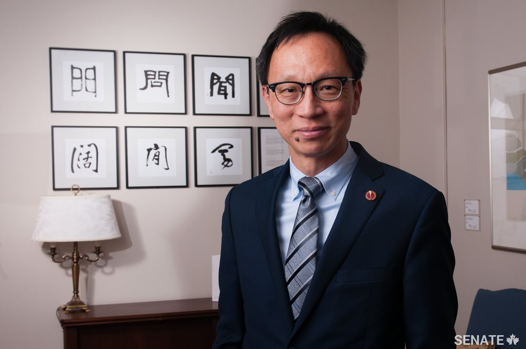 Trudeau-appointed senator speaks at pro-China event