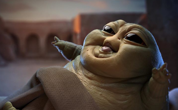 WATCH: Baby Yoda is so 2019—it's Baby Jabba time