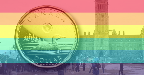 Canada's new gay coin upsets activists