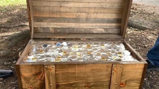 $300,000 worth of gold and silver buried in three Canadian cities