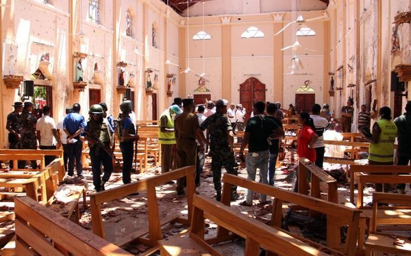 207 killed on Easter as religious extremists bomb churches and hotels in Sri Lanka