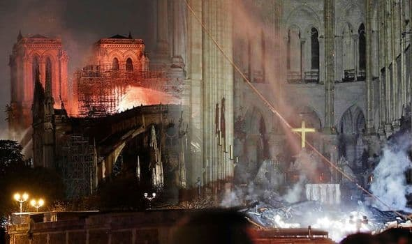 Powerful photos of Notre Dame from before, during, and after the fire