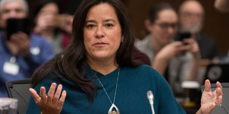 Did SNC-Lavalin sponsor an ad to smear Jody Wilson-Raybould?