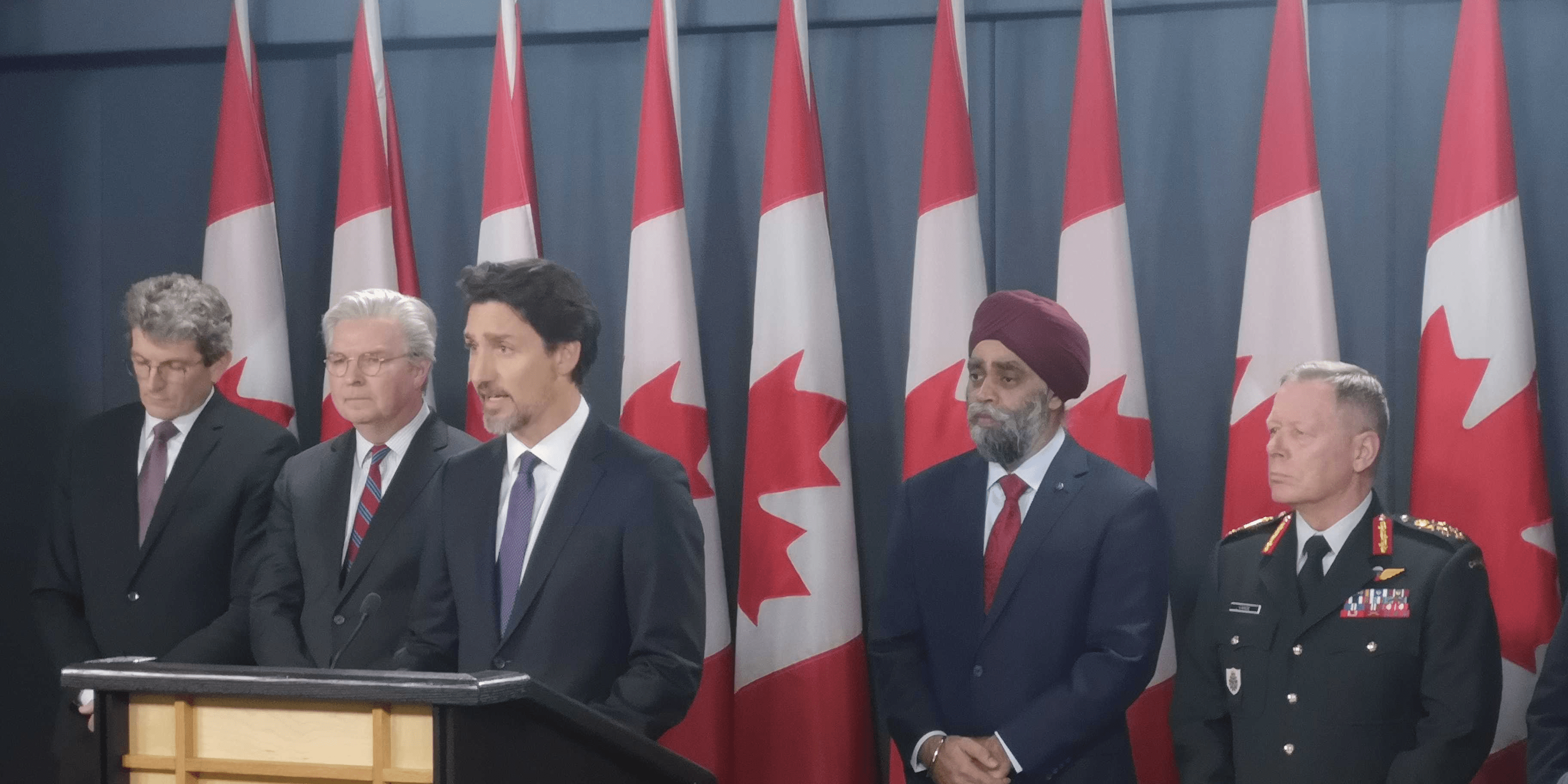 Prime Minister Justin Trudeau addressed media in Ottawa today, following the announcement by US intelligence and the Pentagon that the Ukrainian flight which saw 63 Canadians dead among 176 total was shot down by a Russian-made Iranian anti-aircraft missile.