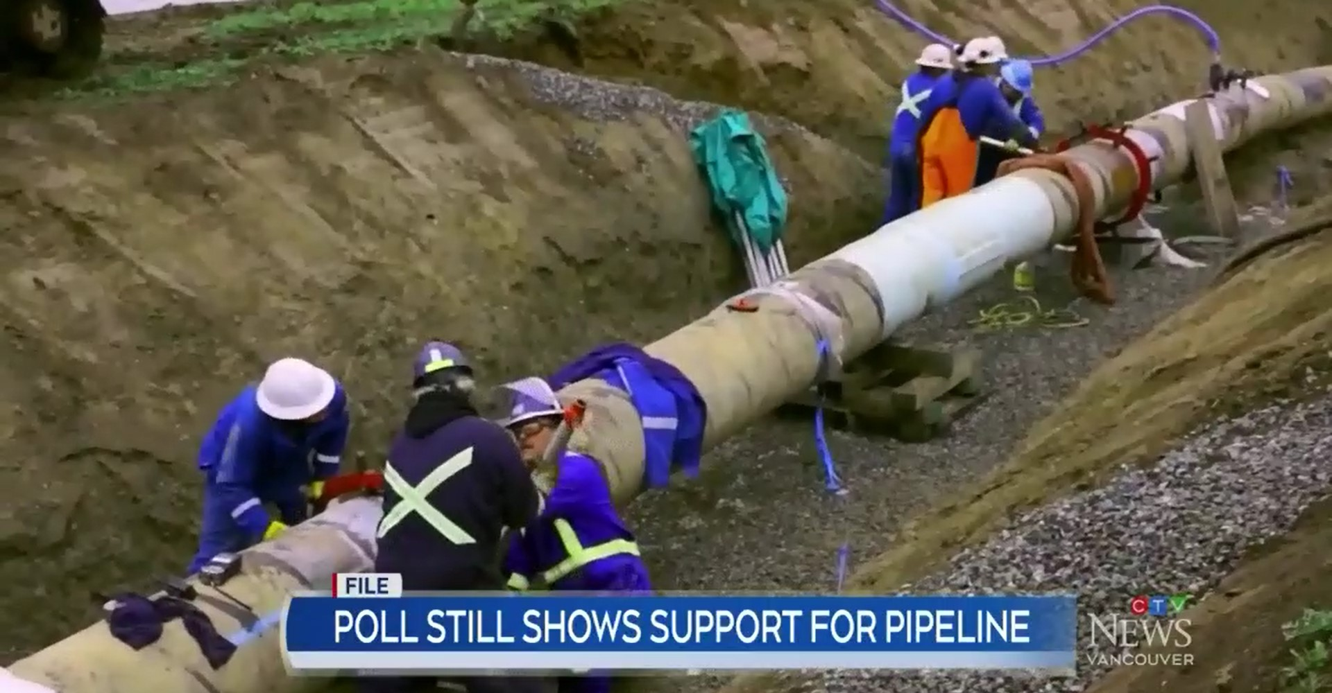 British Columbians are more open to pipelines than ever before. Alberta and B.C. have been at loggerheads with pipeline development in recent years.