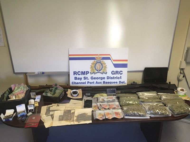 RCMP bust sixteen in connection to Newfoundland drug trafficking operation