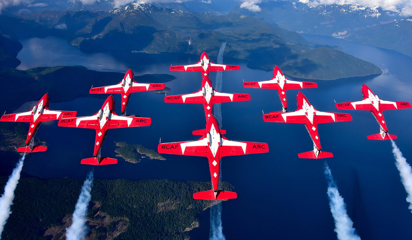 Snowbirds grounded at base until further notice after accident: National Defence