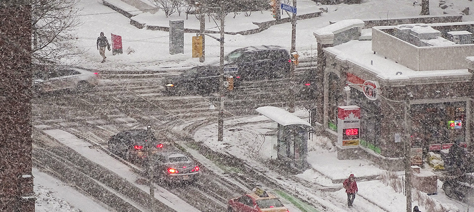 GTA weather this week is snowy, rainy and erratic