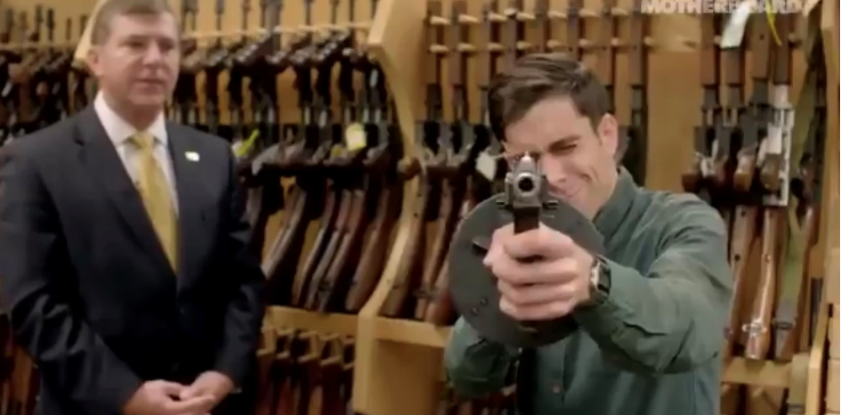WATCH: Vice journalist breaks all four rules of gun safety in one second