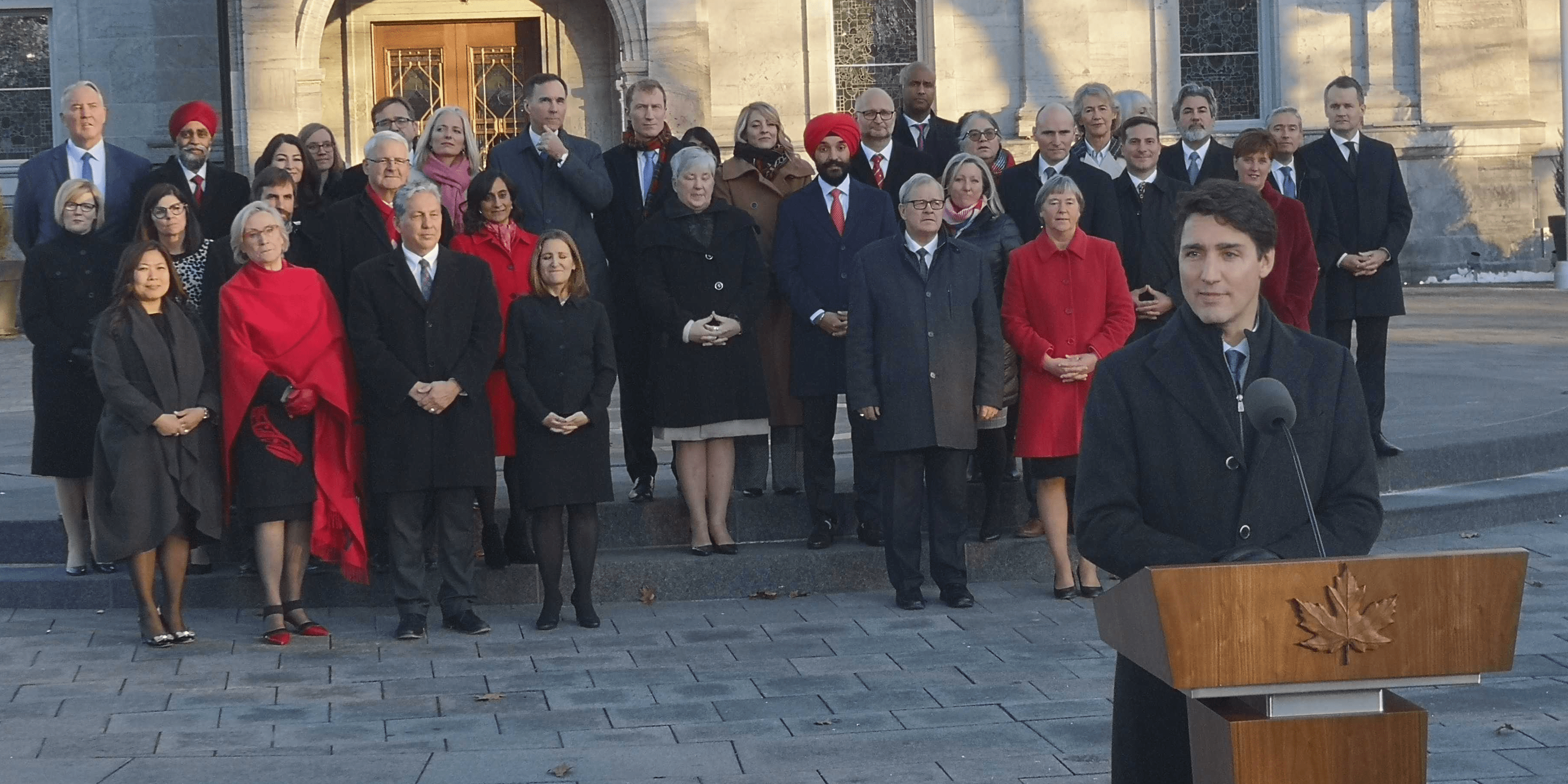 A complete list of Trudeau's 2nd gender-balanced cabinet