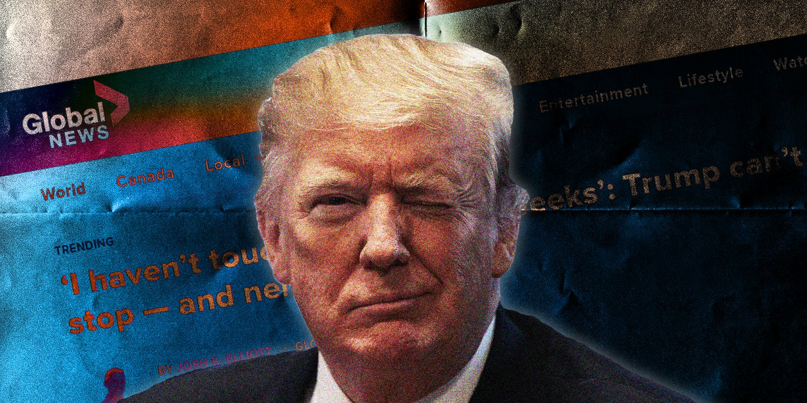FAKE NEWS: Global spreads disinformation while trying to 'fact check' Trump