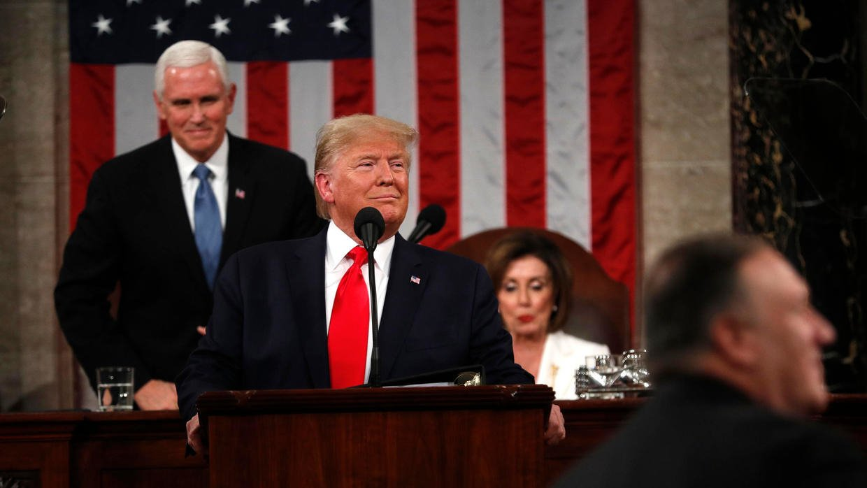 Trump puts on a clinic at State of the Union address