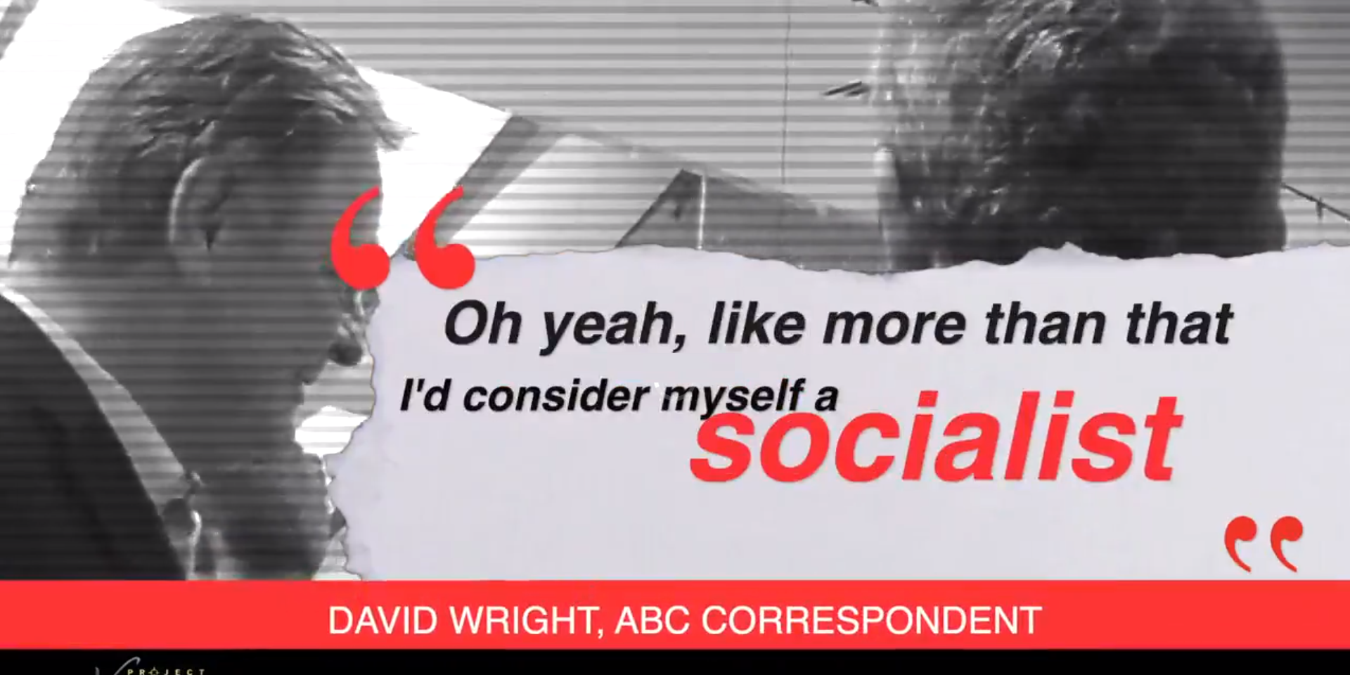 WATCH: ABC correspondent admits he's a socialist, now suspended