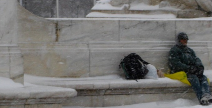 Temperatures drop, what should a city do for the homeless?