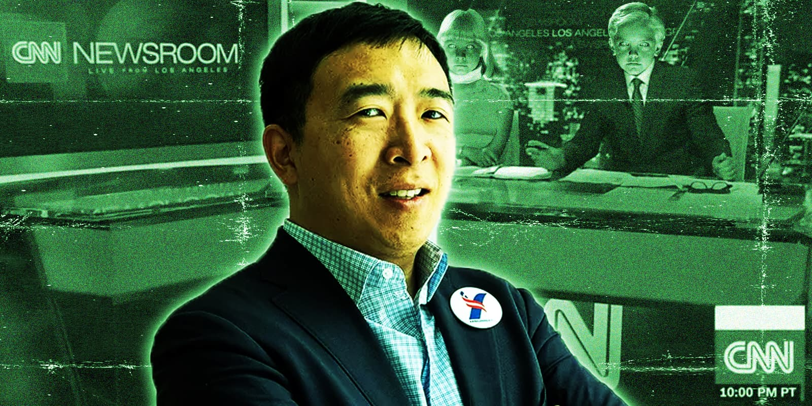 Will Andrew Yang change CNN or will it change him?