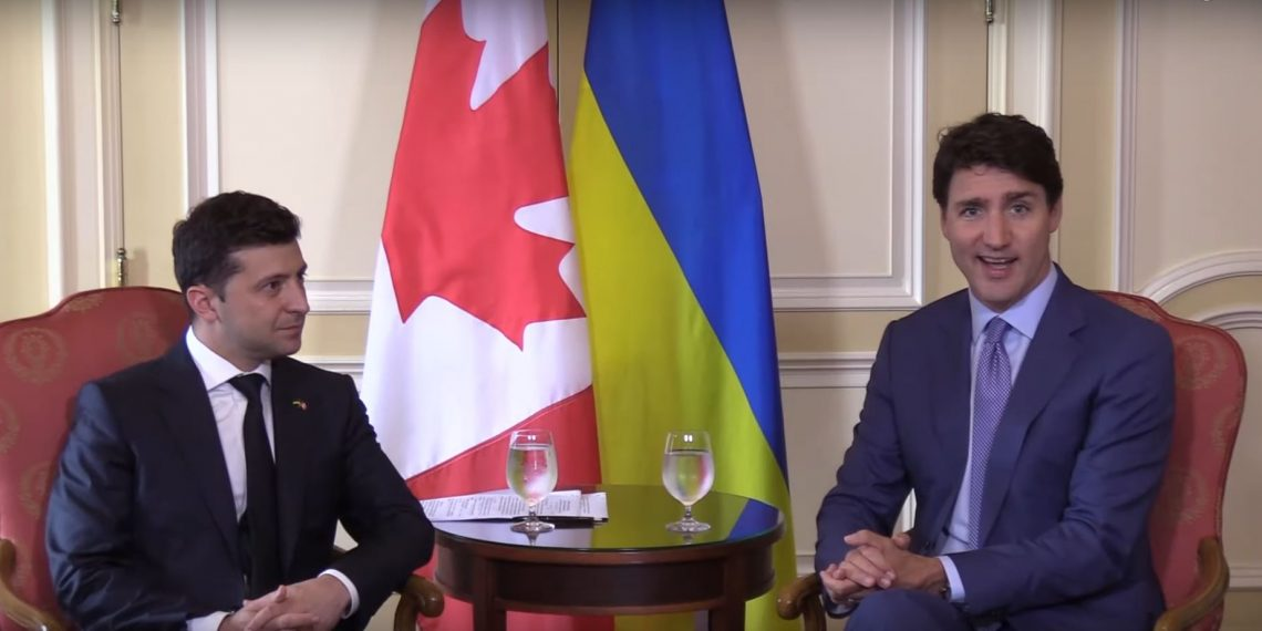Comedian-President of Ukraine says Justin Trudeau inspired him to enter into politics