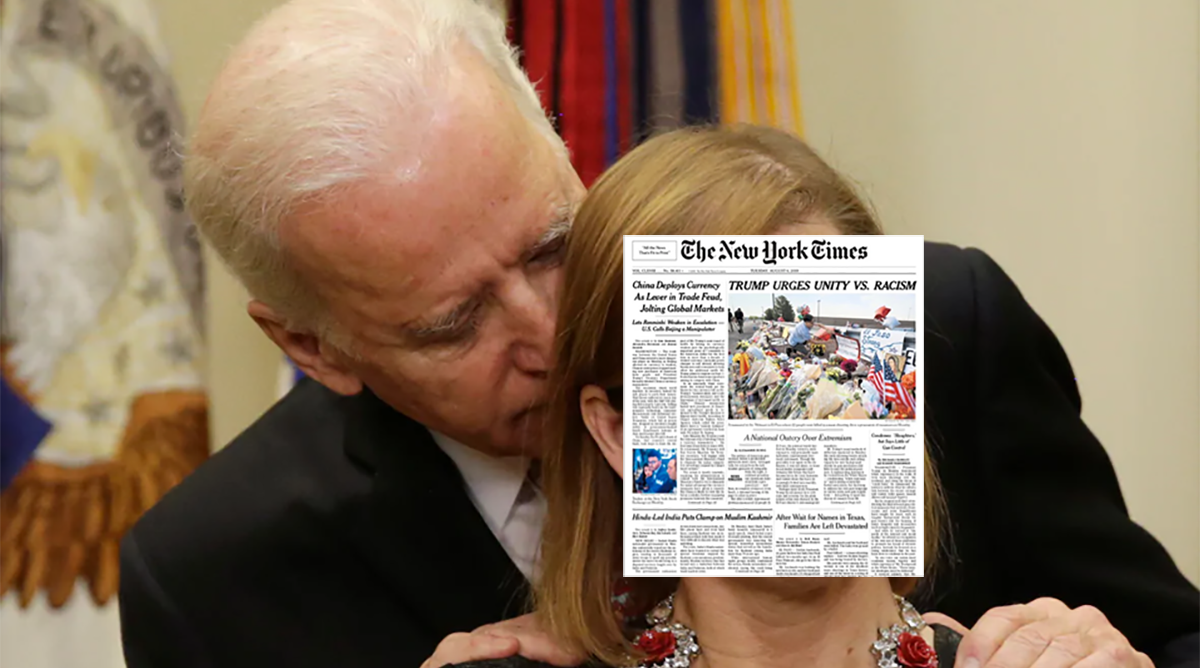 The New York Times protects Joe Biden from sexual assault allegation