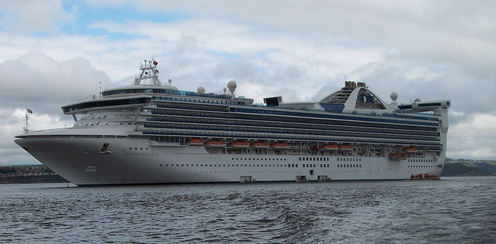 Last 3 cruise ships to dock today