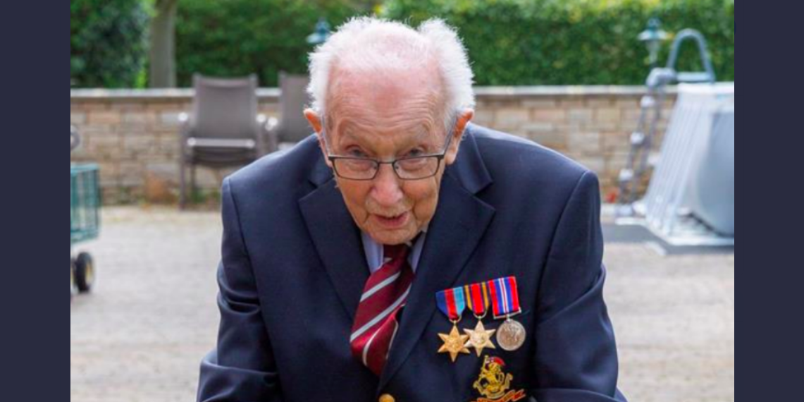 WWII veteran raises over £2M for NHS charities at 99 years old