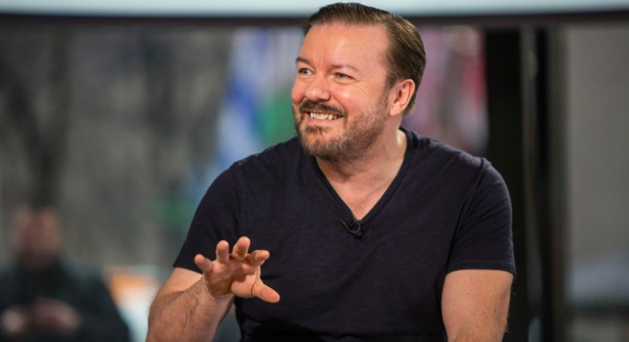Ricky Gervais tells celebs to stop complaining, praises nurses during pandemic