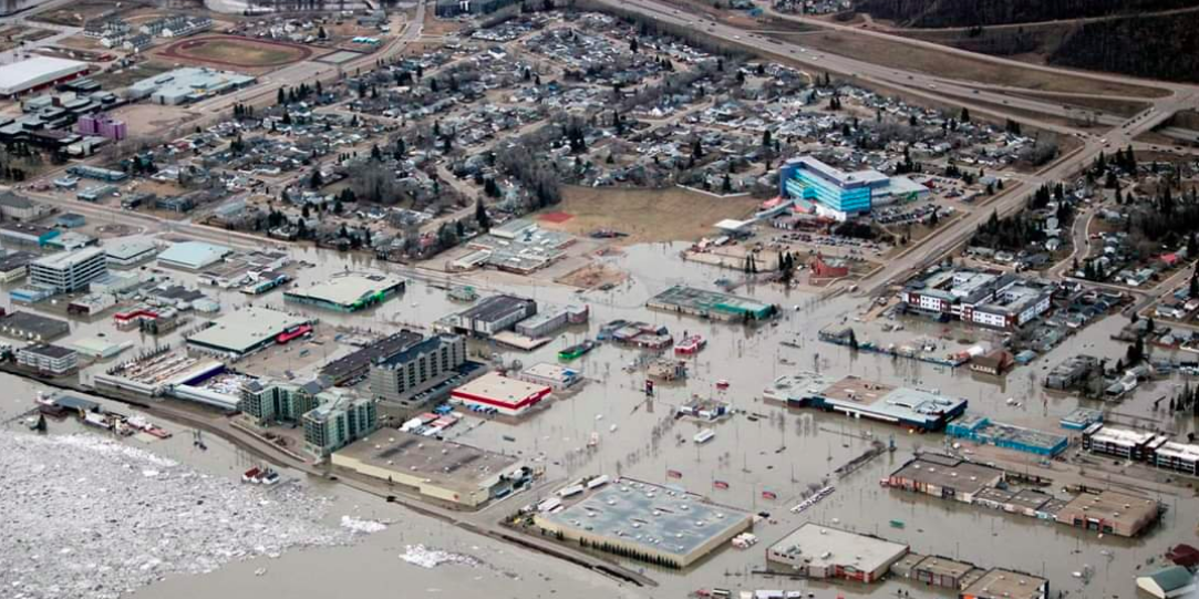 Fort McMurray flooding comes close to area's only hospital