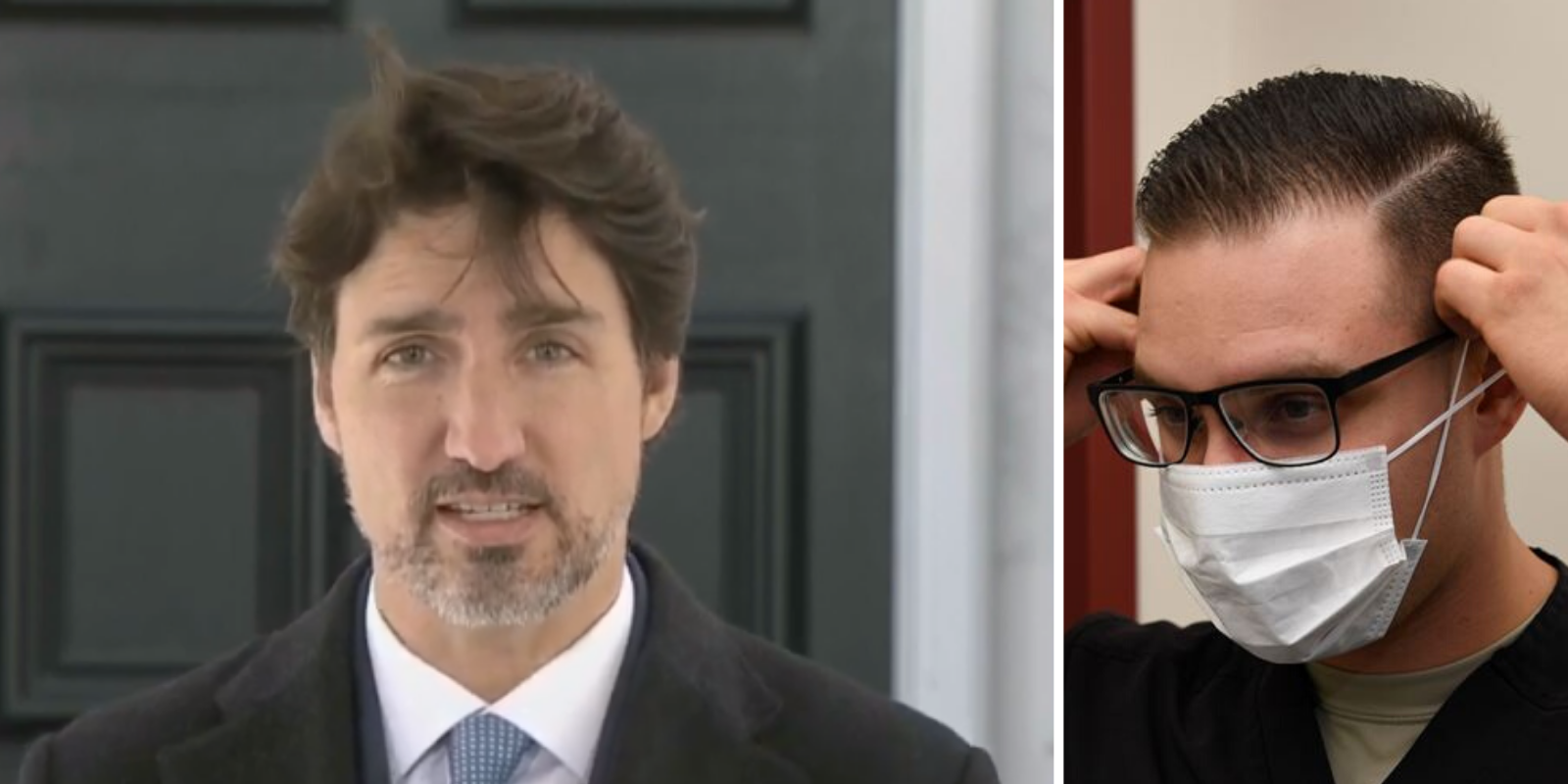 BREAKING: Trudeau says medical masks prevent people from 'speaking moistly'