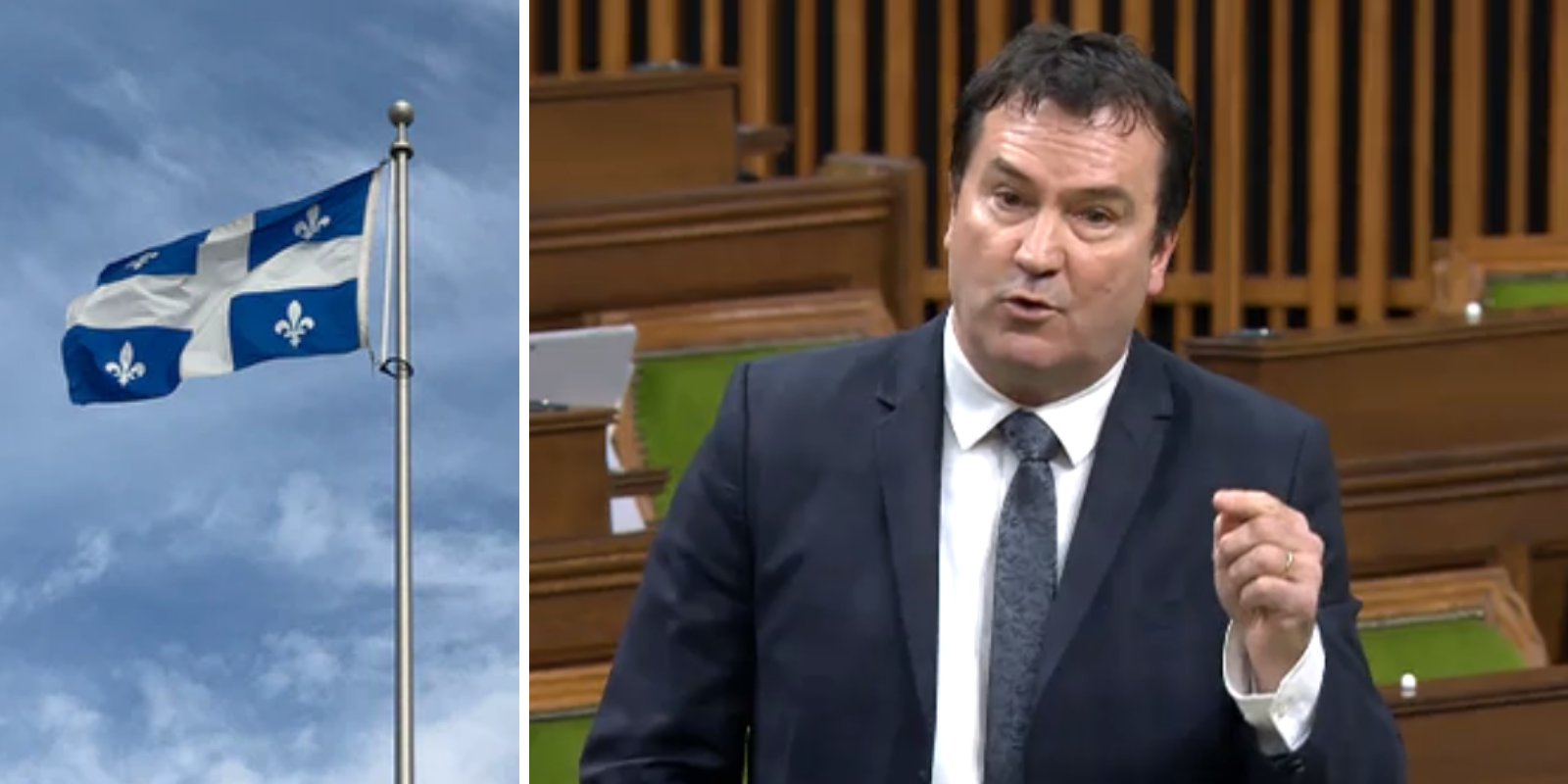 WATCH: Quebec MP complains that life-saving medical equipment doesn't have French labelling, calls it a 'Trojan Horse'