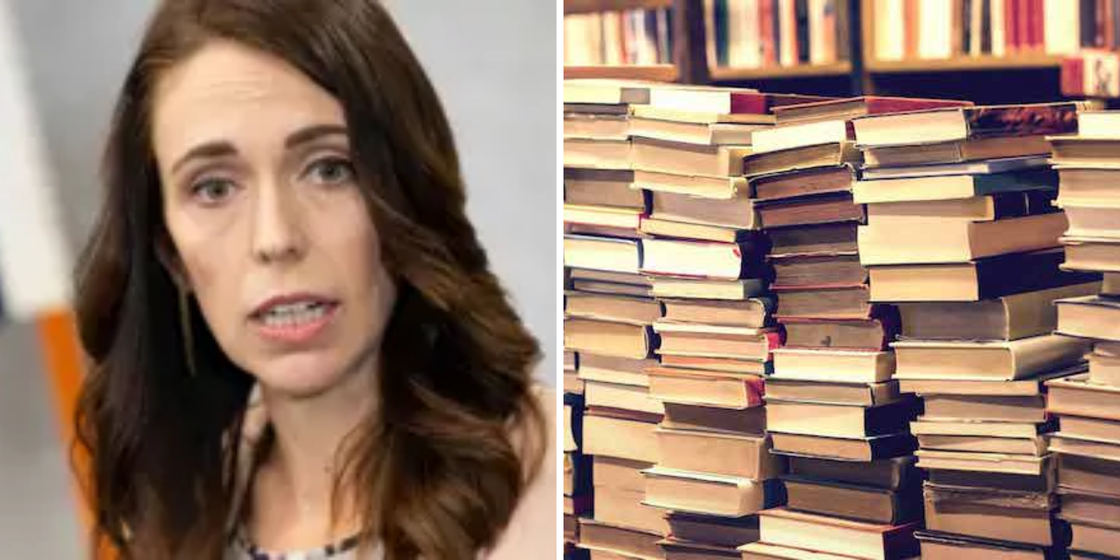 Under the onerous orders of Jacinda Ardern, New Zealand has banned the sale of books, deeming them non-essential items.
