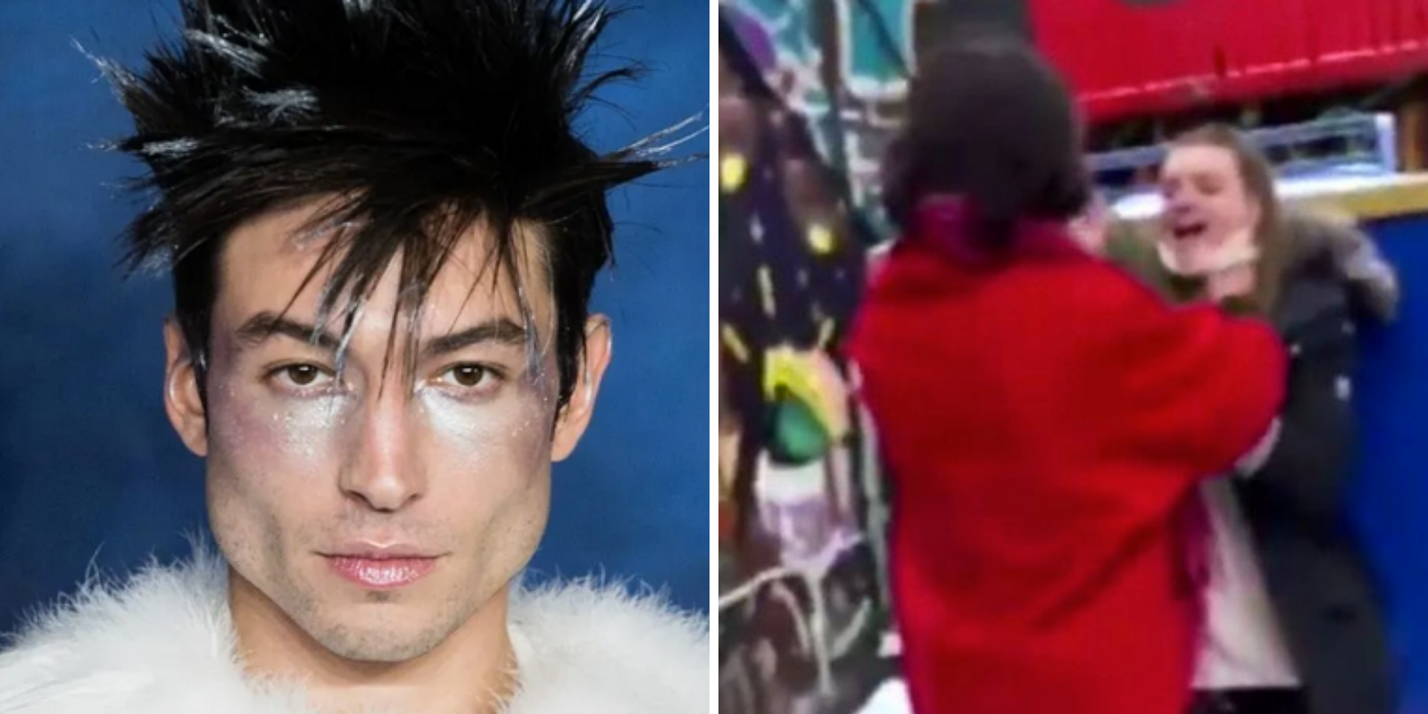WATCH: Nonbinary actor Ezra Miller assaults woman outside of a pub