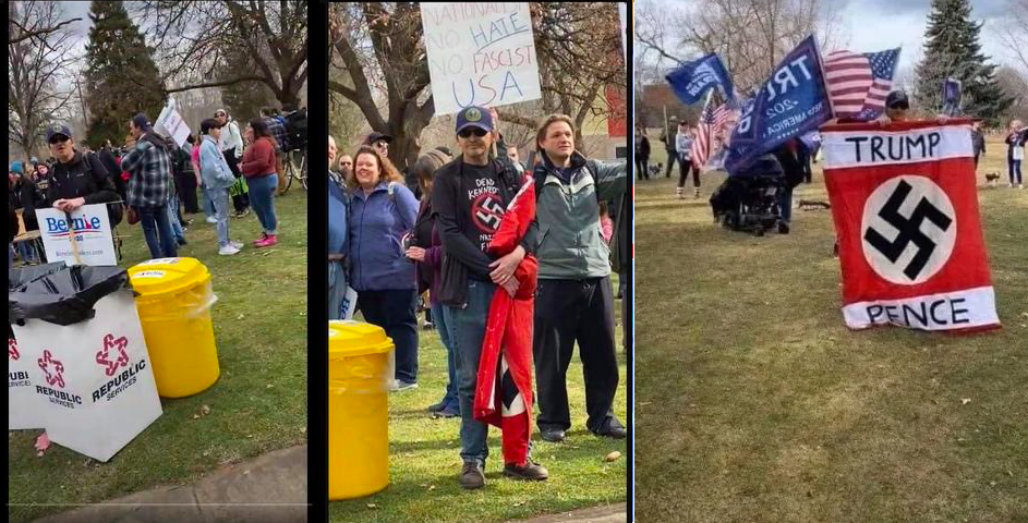 Media, Democrats deceptively use image of troll to suggest Trump supporters in Michigan are Nazis