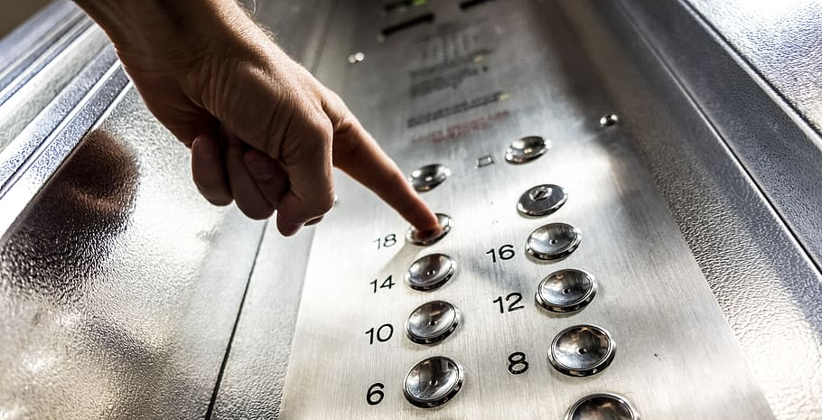 WATCH: Vancouver man spits on elevator buttons