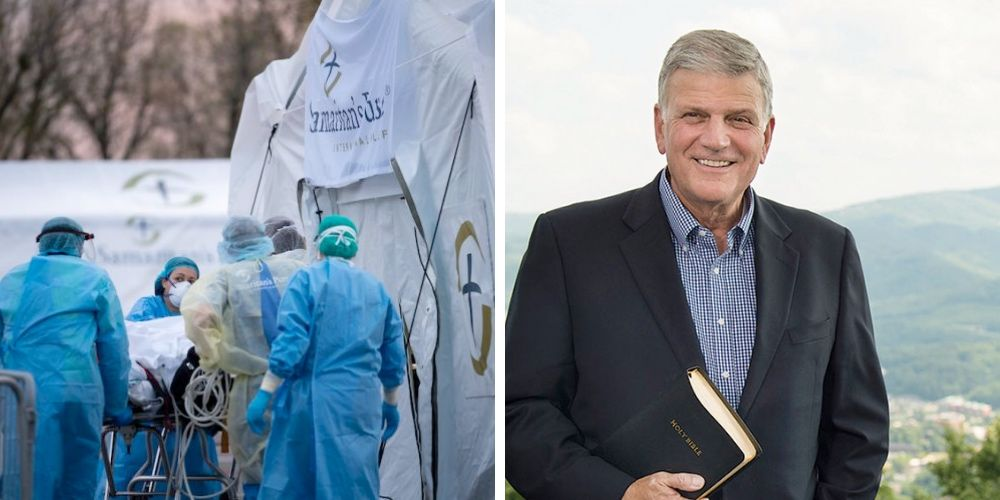 LGBT outrage over Franklin Graham's NYC field hospital is anti-religious bigotry