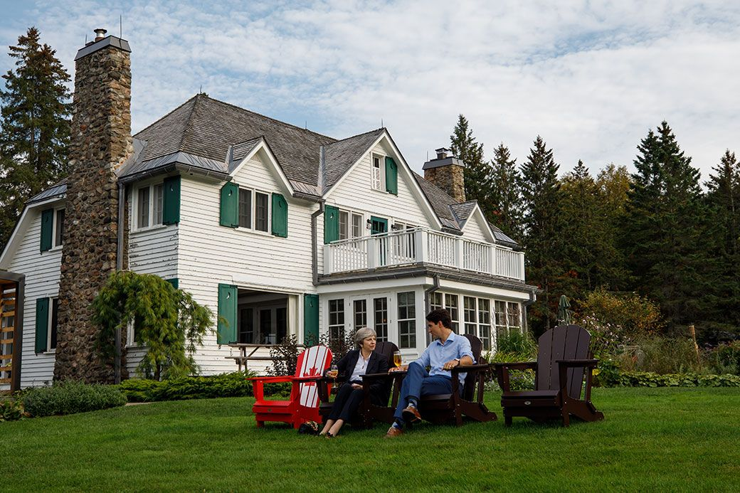 Trudeau's second home undergoing $8.6 MILLION tax-funded renovation