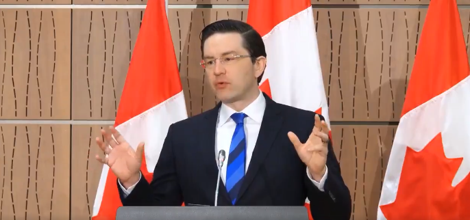 WATCH: Poilievre says Trudeau is using 'freakonomics' during pandemic, says response is a 'governmental failure'