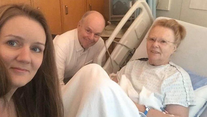 An 80-year-old cancer patient in North Vancouver was visited by the RCMP to enforce quarantine. The officers were not wearing face masks despite her illness.
