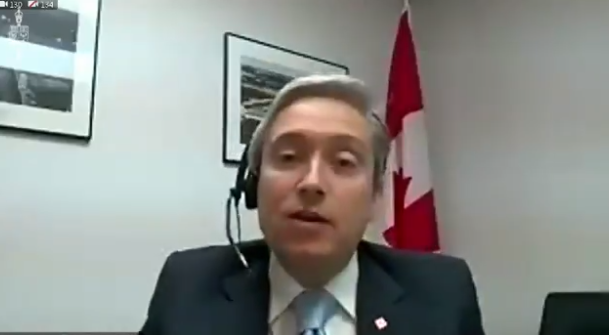 WATCH: Liberal minister WILL NOT acknowledge Taiwan's gift to Canada, can't even say country's name