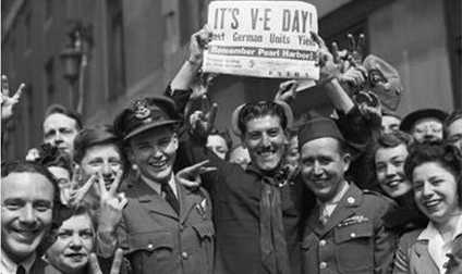VE Day celebrations mark 75th anniversary of Nazi surrender