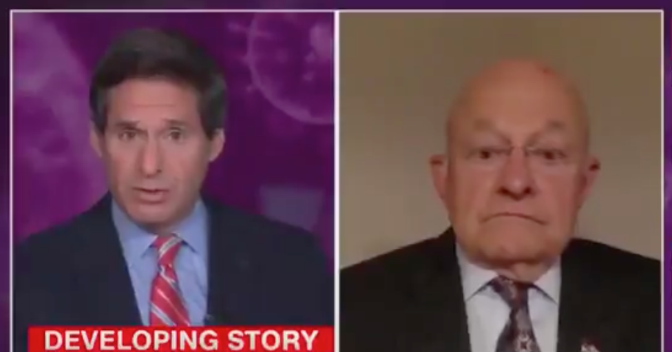 WATCH: James Clapper magically disappears when asked about leaking classified information