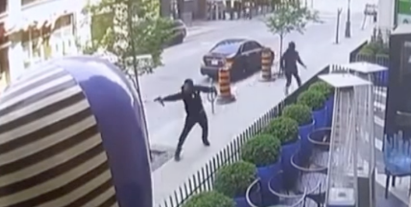 WATCH: Six-year-old boy and his mother almost shot in incident that killed Toronto rapper