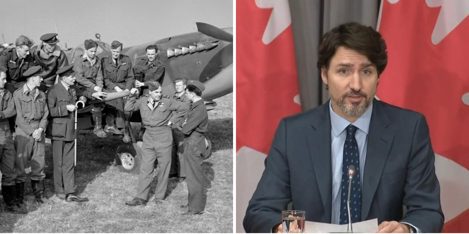 Trudeau government spent more in seven weeks than Canada spent on WWII