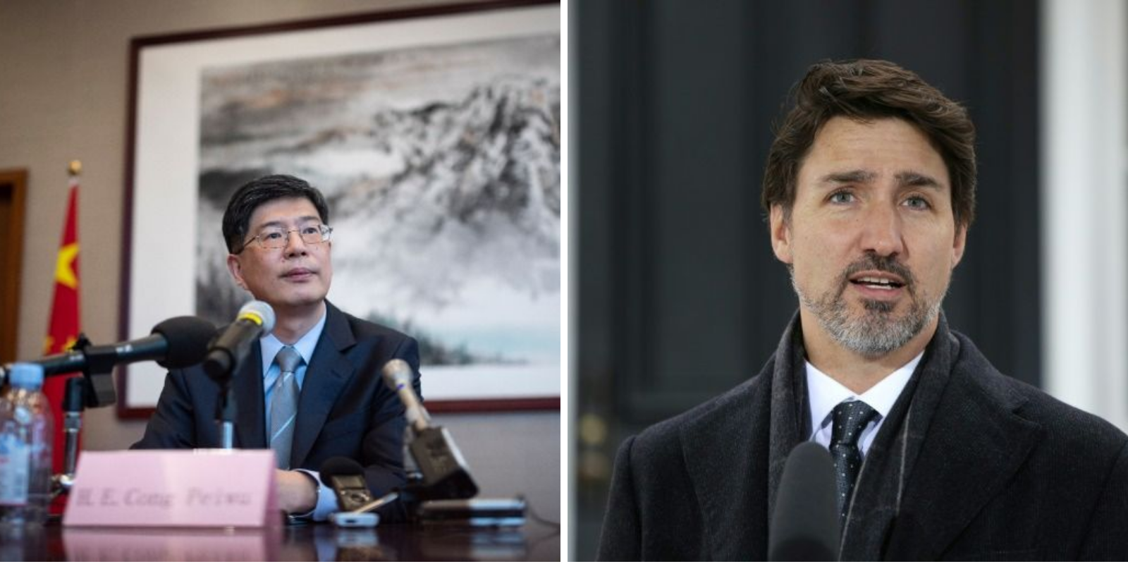 China's envoy to Canada praises Trudeau for not attacking Beijing